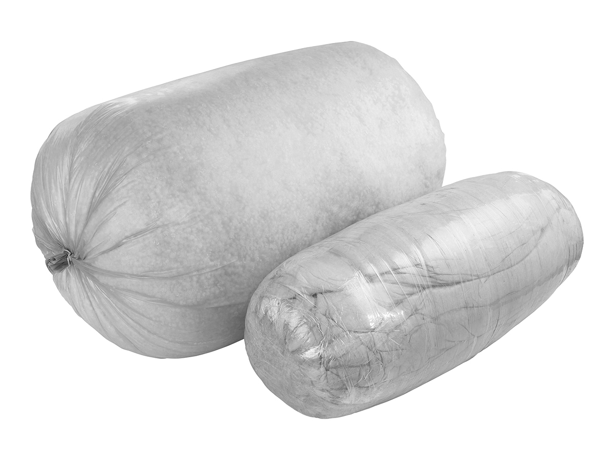 Шариковый Холофайбер (мешок+вакуум) (белый)